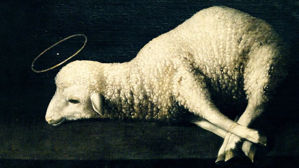 The Paschal Lamb (or Passover Lamb) commanded in Exodus 11-12