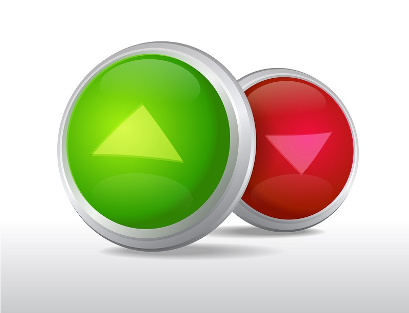 True and false buttons with green for true and red for false.