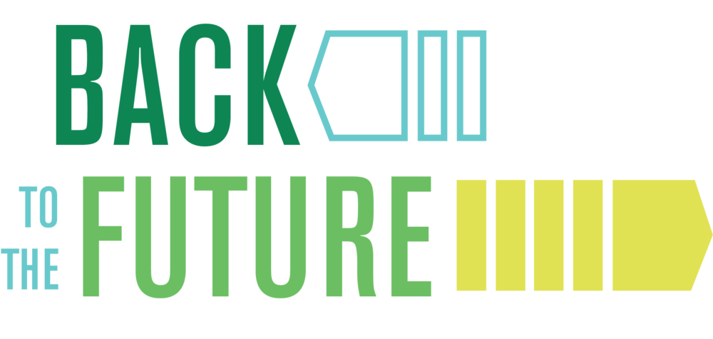 Back to the Future capital campaign logo
