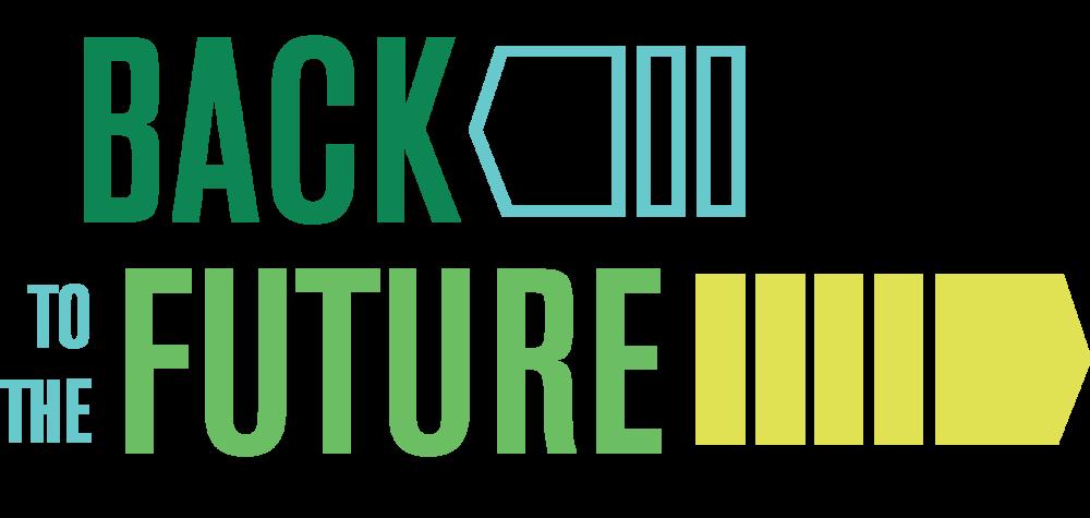 Back to the Future capital campaign logo