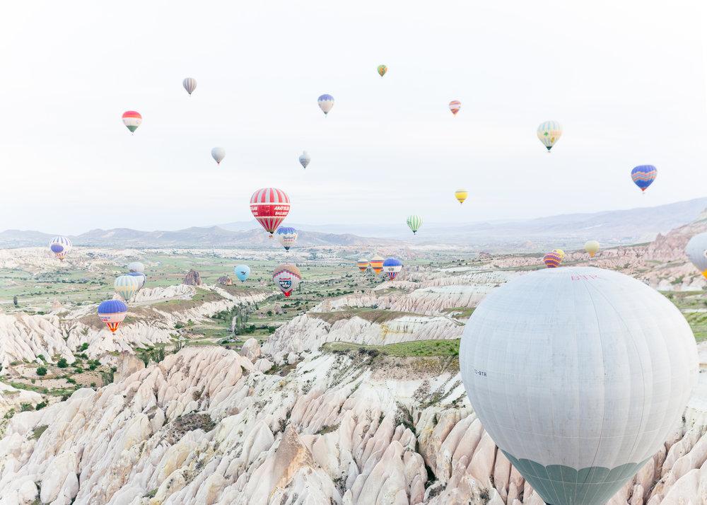cappadocia turkey balloon tour