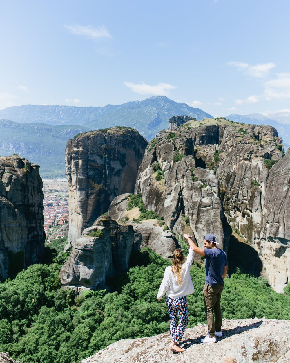 the best place to visit in greece meteora