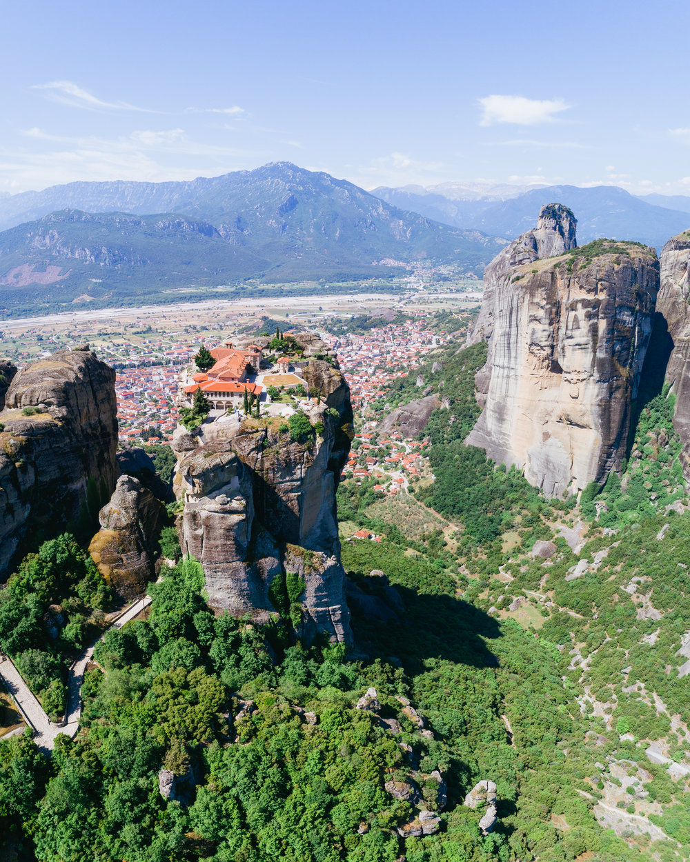the best place to go in greece meteora