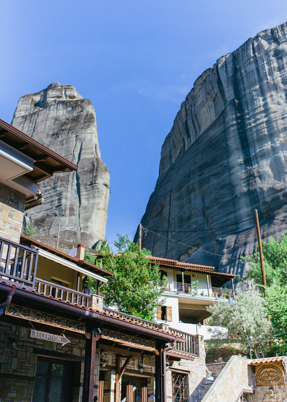 where to stay in meteora Alsos House Greece