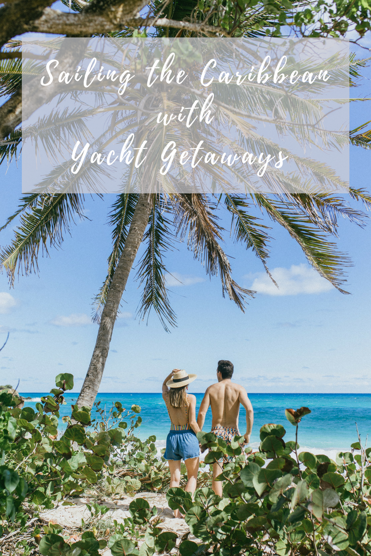 sailing around antigua in the caribbean with yacht getaways