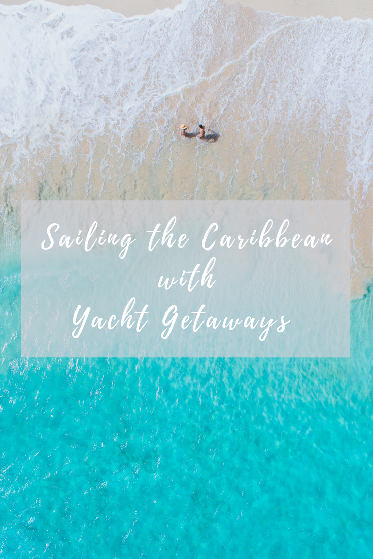 sailing around antigua island in the caribbean with yacht getaways