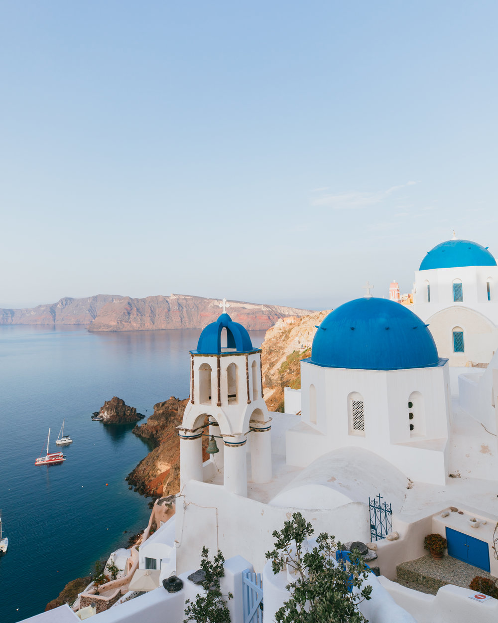 the most instagrammable spots in santorini greece