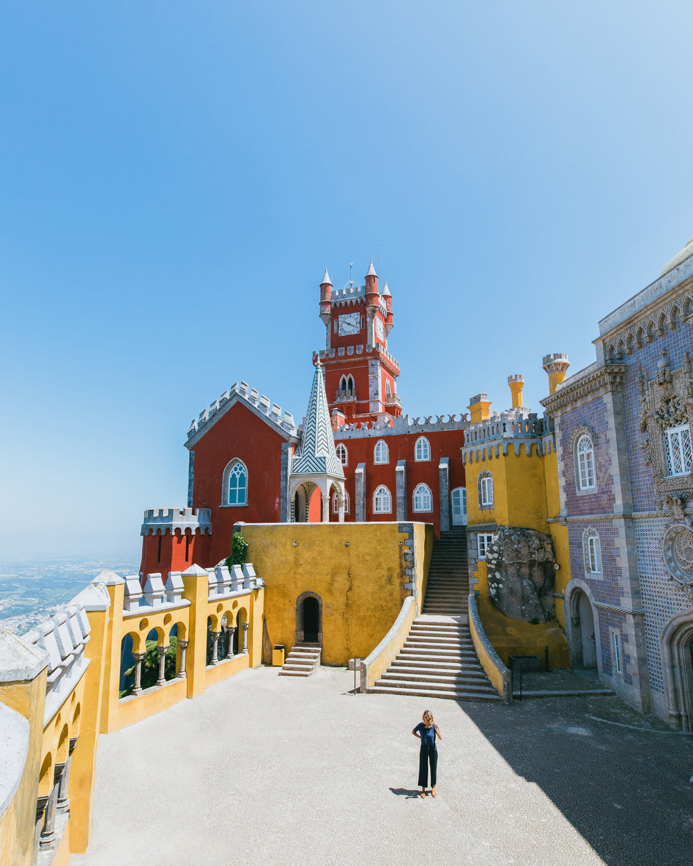what to do in lisbon portugal sintra pena palace