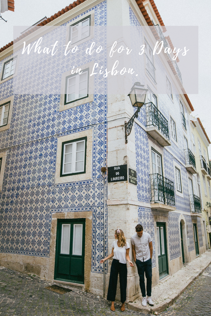 what to do for three days in lisbon portugal