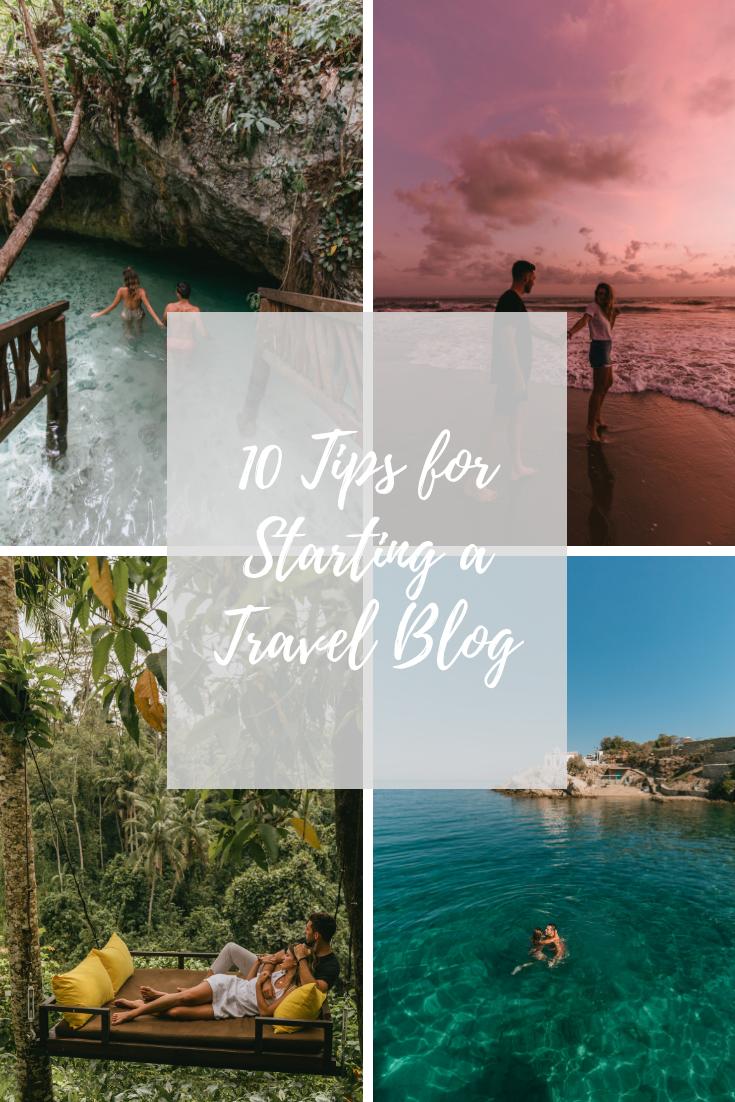10 tips for starting a travel blog