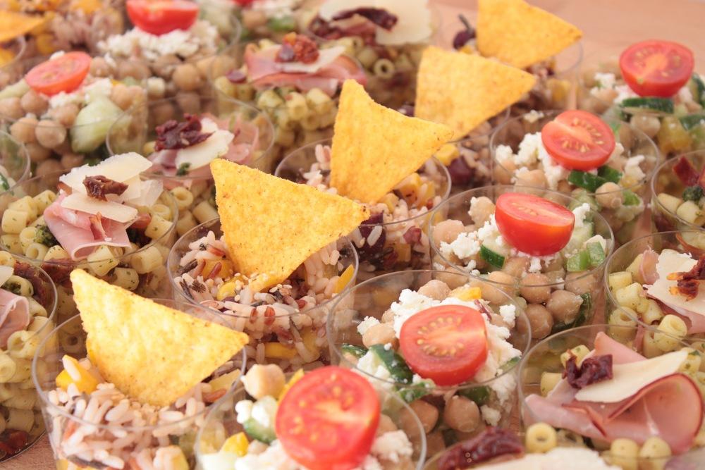 Salades verrines traiteur