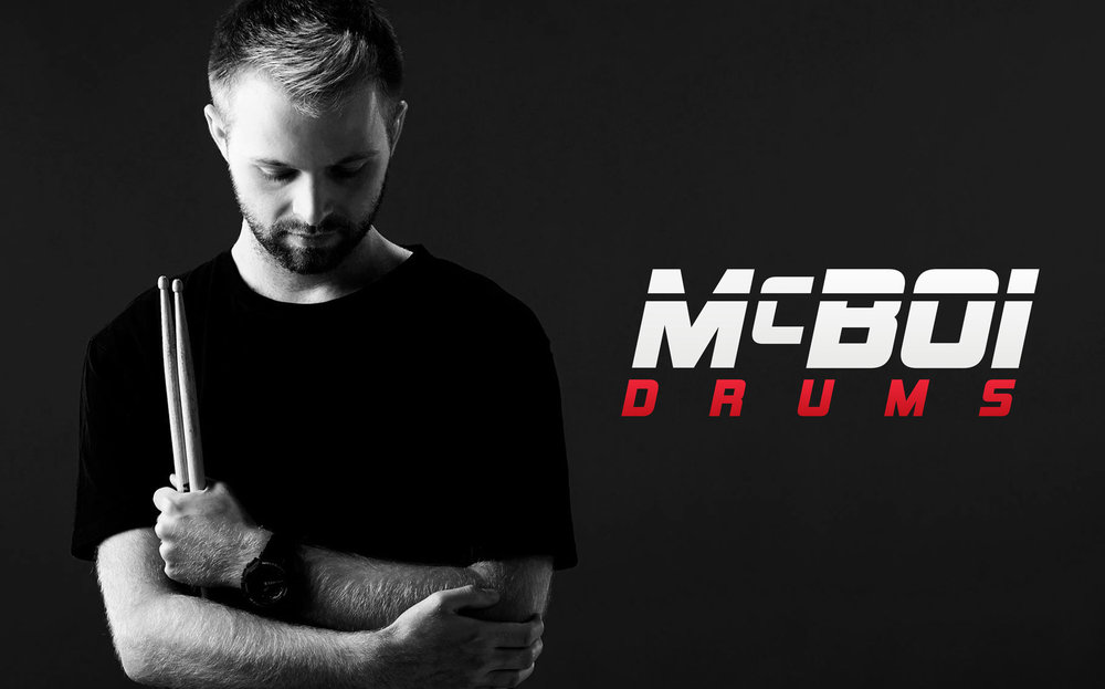McBoi Drums, 2018 — Logo Design