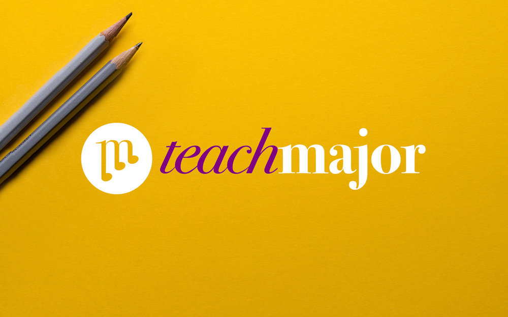 Teach Major, 2018 — Logo Design