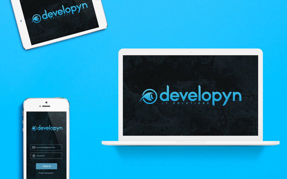 Developyn, 2018 — Logo Design