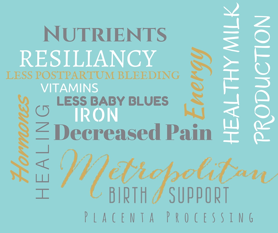Made by you, for you; placenta encapsulation may enhance your postpartum wellness.These are some of the reported benefits of consumption.