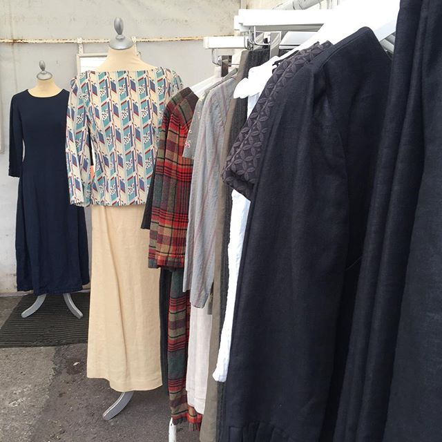 A fine day for a market day @skibbereenmarket . . . . . . #skibbereen #designermaker #artisanclothing #madeslow #choosewellbuyless #madeinireland #whomademyclothes #sustainable #consciousfashion #sustainablefashion #slowfashion #ethicalfashion #ethical #allyouneedisless #sustainability #makeitlast #ecoconscious #sustainabledesign #westcork #consciousdesign #lovedclotheslast