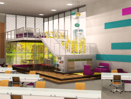 Rendering Category 3rd Place: Nicole Puma, Waldners Business Environments