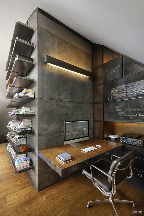 Delicieux 20 Examples Of Awesome Home Office Design
