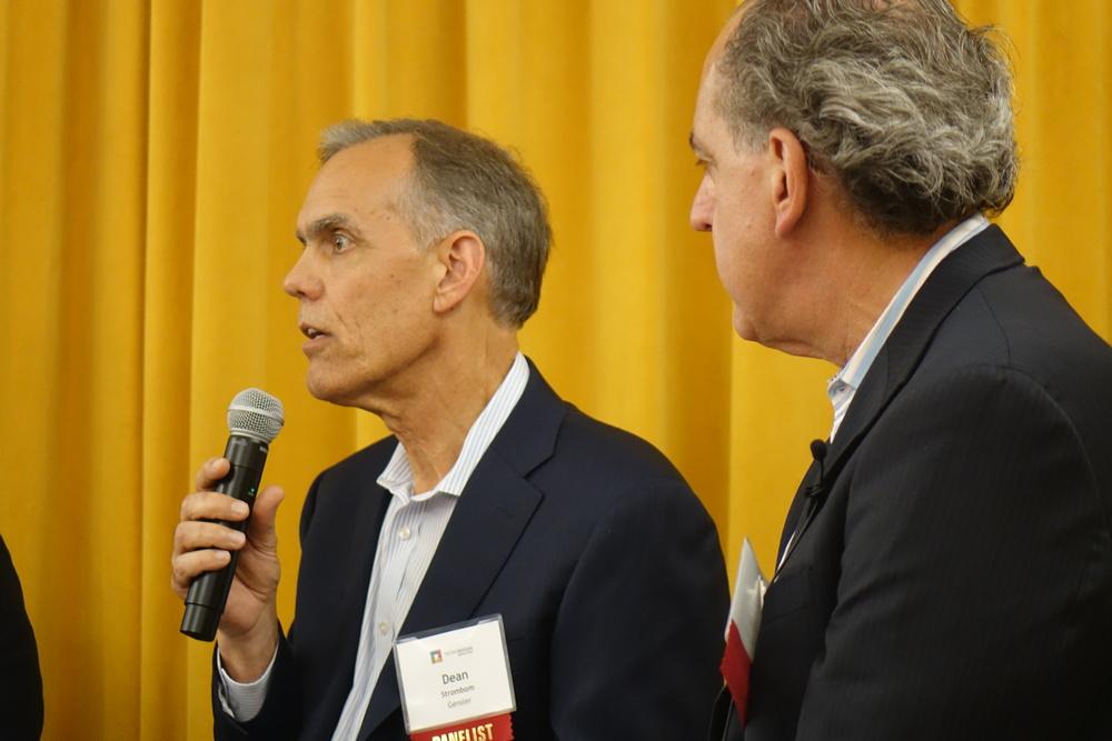 Dean Strombom of Gensler Speaking