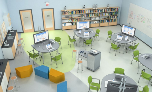 Virtual Classroom Architecture Design ~ News contract furnishings