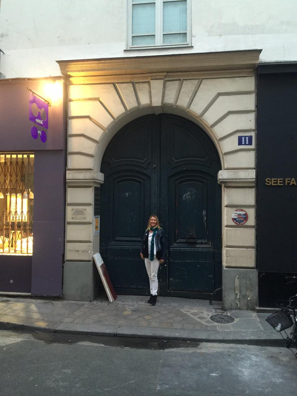 Kontor CEO Mia Lewin in Paris earlier this year to celebrate the opening of an office there.