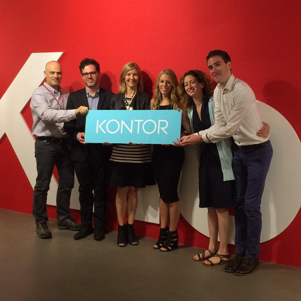 The Kontor launch at the Knoll showroom in Chicago during NeoCon 2015.