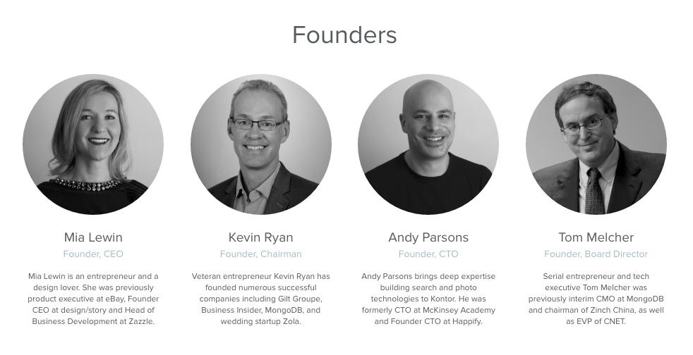 The founders of Kontor.com