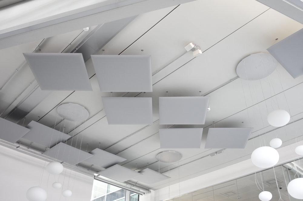 Oversize Ceiling panels suspended.JPG