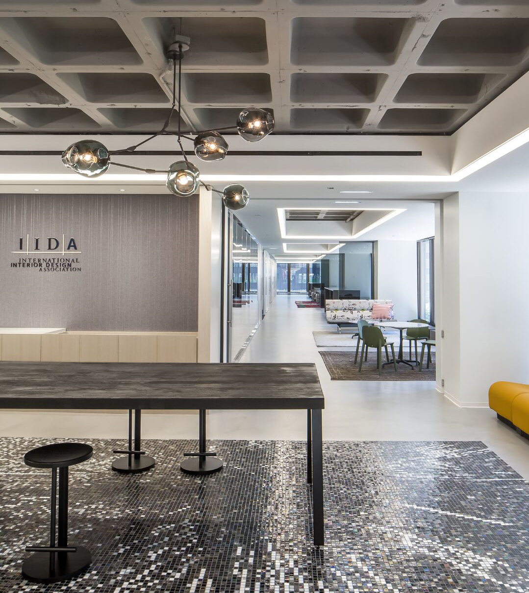 The Big Reveal International Interior Design Association Opens New HQ During NeoCon