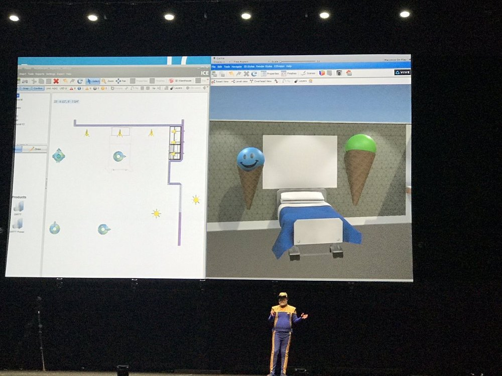 MaryMiano Collaboration, integration and ... ice cream cones? @Ice_Edge @DIRTT can turn u into a VR cone! Oh ... & show u ur space in real time VR pic.twitter.com/ZSvRaKnUsd Jun 10, 2017, 10:28 AM