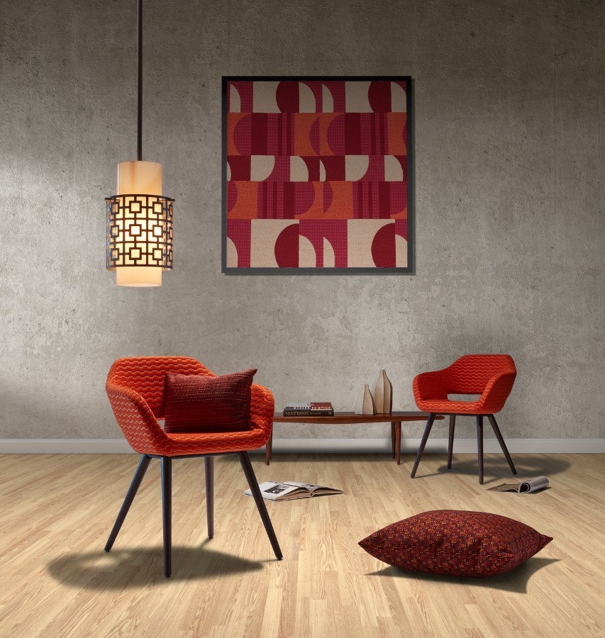 pallastextiles  Sleek lines. Simple forms. Bold hues. The Mid Century Mood Collection pays homage to #midcenturydesign #NeoCon2017 hubs.ly/H07MfYy0 pic.twitter.com/uqJYI0KEFv  Jun 10, 2017, 9:00 AM