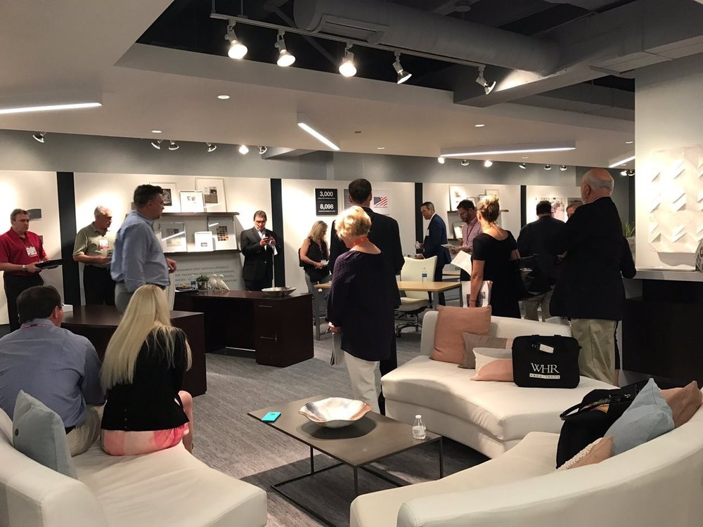 bbf_fits  Getting ready for #NeoCon2017 in our updated showroom. We literally can't wait for Monday! pic.twitter.com/SHx2ceGxRm  Jun 11, 2017, 1:41 PM