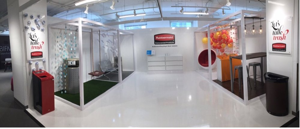 Innovatude  Ready for #neocon2017 #rubbermaidcommercialproducts. See the finished product tomorrow! , Space 7-10042! #LoveOurClients #LoveWhatWeDo pic.twitter.com/y843XoSjpB  Jun 11, 2017, 5:03 PM