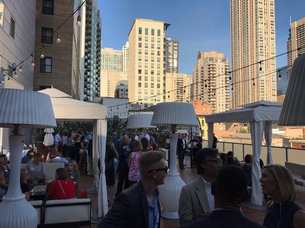 DeskMakers  The views 👌. The food 👏. The company 🙌. Thanks to everyone who came to our #NeoCon2017 party! pic.twitter.com/ROxvUBH7sk  Jun 11, 2017, 7:22 PM