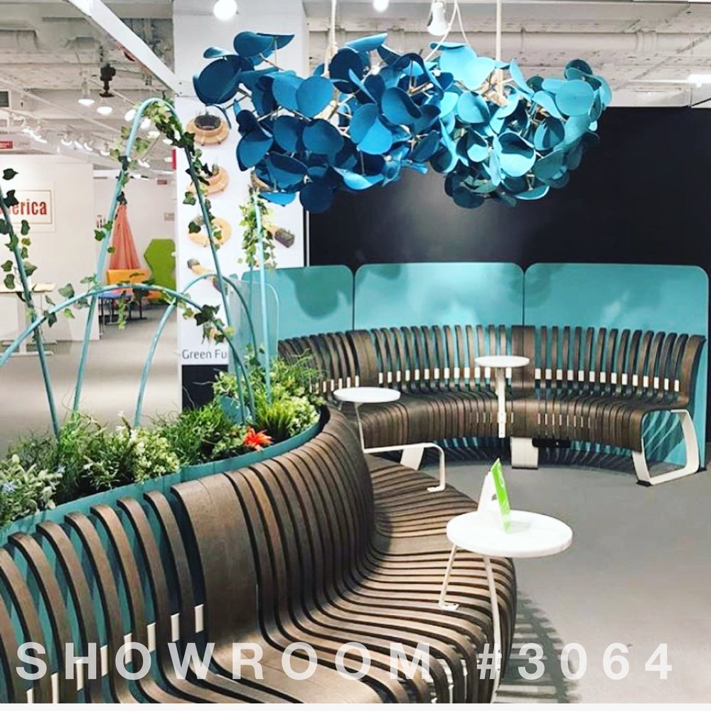 CorbettInc  Attending #NeoCon2017 ? Make sure to stop by Green Furniture Concept's Showroom #3064 to see seamless seating and leaf lamps in person! pic.twitter.com/miRfMwhqIq  Jun 11, 2017, 7:44 PM