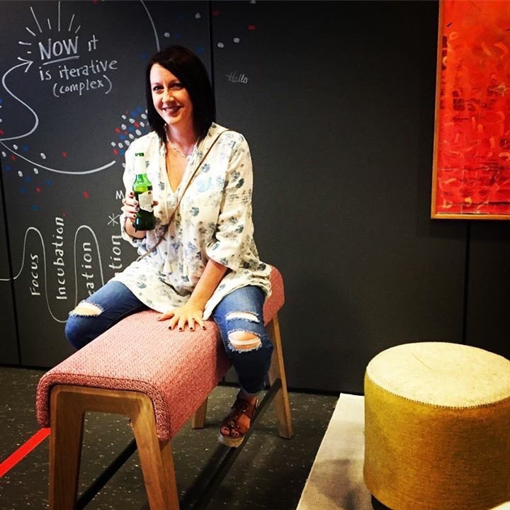 KristinaYork01  Horsing around in the @Steelcase showroom sneak peek with @Coalesse and @MyTurnstone #neocon2017 #kypicks @createandco_ pic.twitter.com/ULNX1bdscB  Jun 11, 2017, 11:38 PM