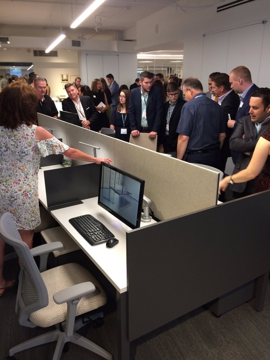 honcompany  Happening now! The unveiling of HON's new benching system, Empower. #NeoCon17 #WinEveryWorkday pic.twitter.com/ndwNqhE0tu  Jun 12, 2017, 10:25 AM