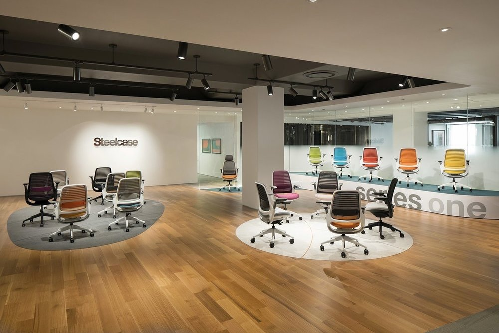 Steelcase  Steelcase Series 1 offers dynamic performance in any setting, from collaborative spaces to focused work. steelcase.com/series1 #NeoCon2017 pic.twitter.com/ynX6RJHnZ1  Jun 12, 2017, 11:09 AM