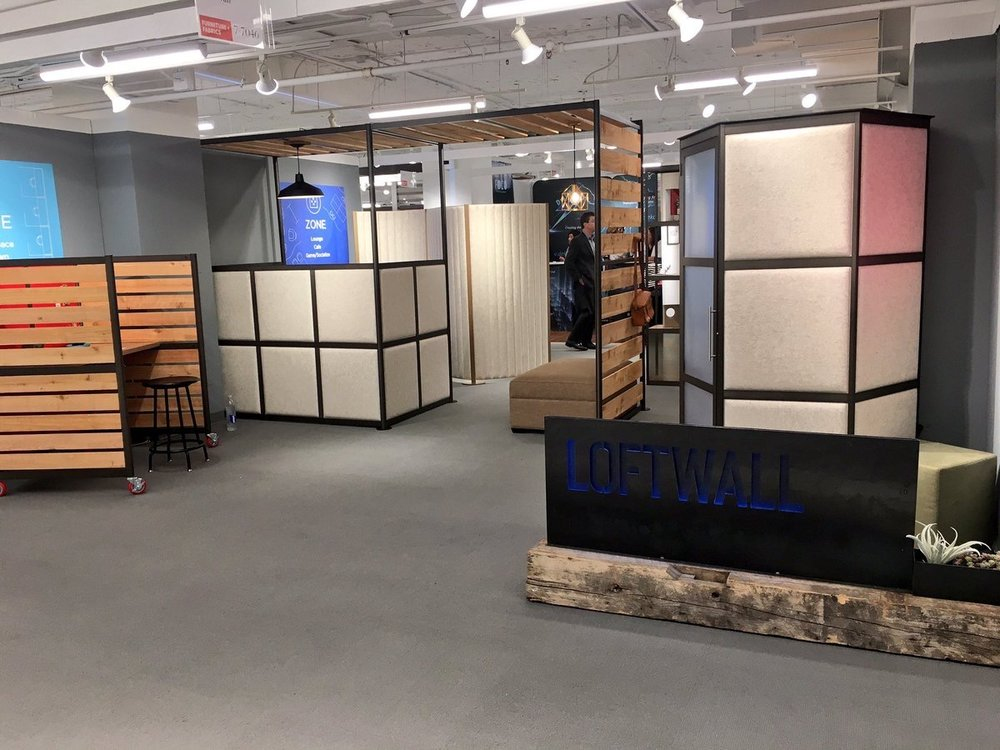 LOFTwall  Stop by booth 7-7046 to see what's new with #LOFTwall @NeoCon_Shows #dividers #makespaceworkbetter #neocon #NeoCon17 #soundabsorption pic.twitter.com/IV9mTDtFZg  Jun 12, 2017, 11:13 AM