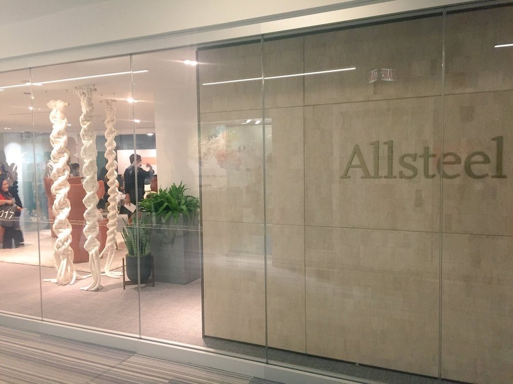 Allsteel  The #NeoCon2017 fun is in full swing! What do you think of our showroom so far? pic.twitter.com/733ziaNxDN  Jun 12, 2017, 11:58 AM
