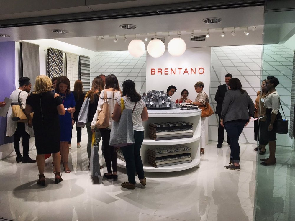 BrentanoFabrics  @NeoCon_Shows craze has begun! #Brentano Showroom 1040a #brentanofabrics #NeoCon2017 #brentanofabric #neocon #TheMart #chicago pic.twitter.com/Sg9Z4yPBAi  Jun 12, 2017, 12:26 PM
