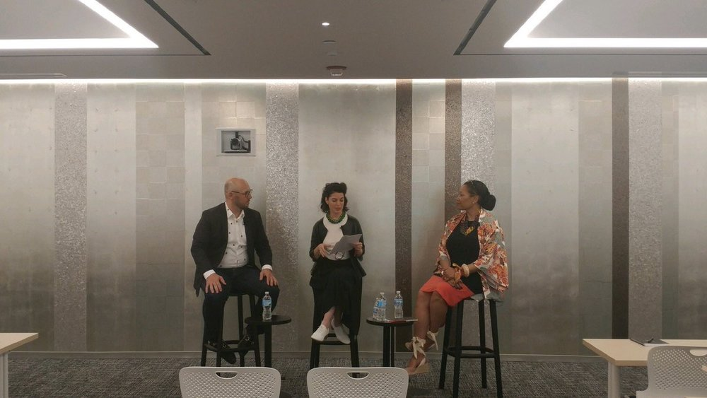 IIDA_HQ  .@CherylDurst & Todd Heiser talk about the thinking behind the new HQ space with @ShawContract pic.twitter.com/ezvENu1l1B  Jun 12, 2017, 3:10 PM