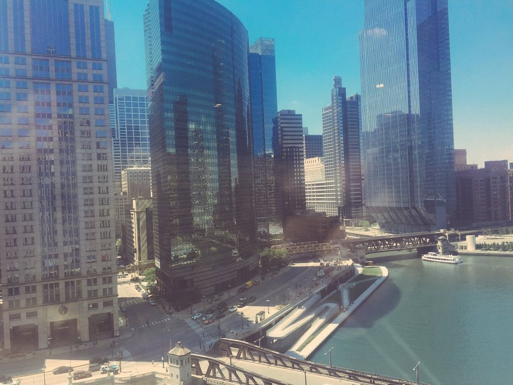 Allsteel  Good morning, Chicago! We have a great view from our showroom – come check it out and our products on floor 11! #NeoCon2017 pic.twitter.com/0LoK5CuMrW  Jun 13, 2017, 8:10 AM