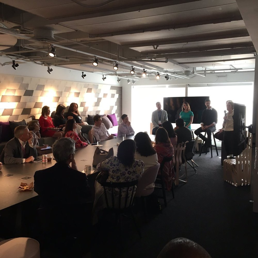 Knoll_Inc  Day 2️⃣ at the #Knoll 2017 NeoCon showroom. Starting off the day with a tech talk seminar. #merchandisemart #knollatneocon #modernalways pic.twitter.com/5lg6Hto2Hn  Jun 13, 2017, 8:38 AM