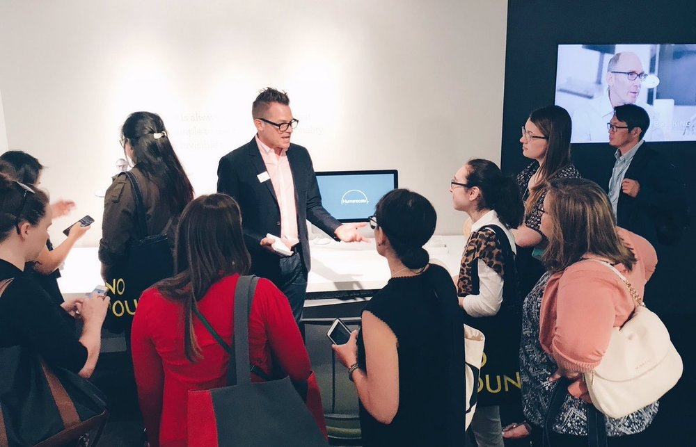 humanscale  Thank you #ASIDstudents for stopping by our #NeoCon2017 Showroom today! #DesignForHumans pic.twitter.com/nkdgAWVjT2  Jun 13, 2017, 3:07 PM