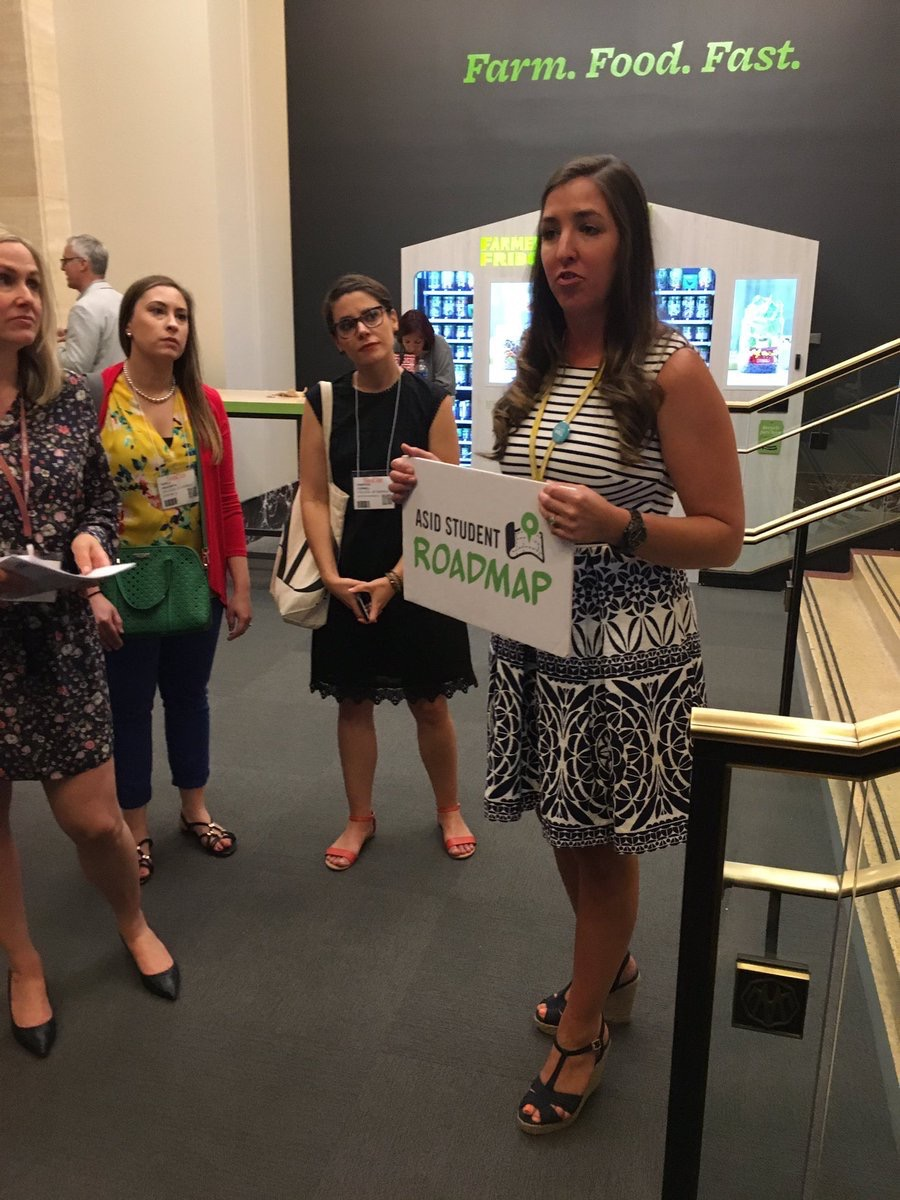 ASID Students on the Student Roadmap tour of #NeoCon2017 meeting with reps and learning how to navigate The Mart #designstudents @NeoCon_Shows pic.twitter.com/yoOYxvs96L Jun 13, 2017, 3:14 PM