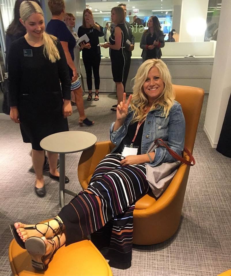 Inside_Source  Lounging around during yesterday's LPA Allsteel Tour! 😊 via 📸: @travelwoman1964 #InsideNeoCon #NeoCon2017 #idneocon pic.twitter.com/AZOdFyvlCw  Jun 13, 2017, 8:31 PM
