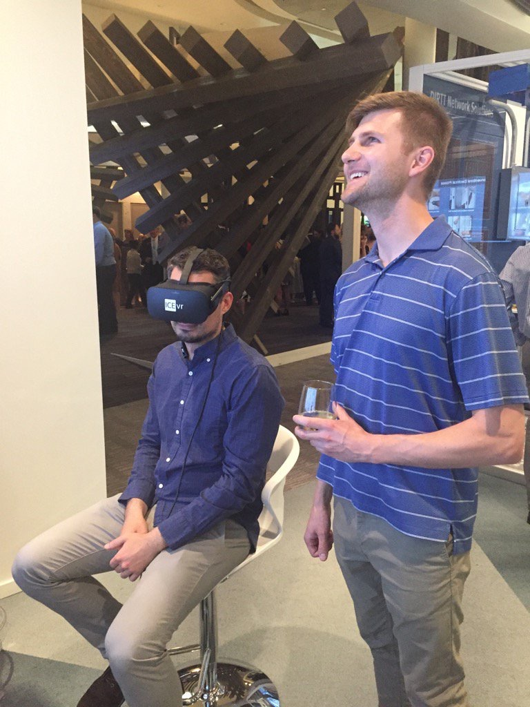 MichaelRConklin  Stephen and Roland hit DIRTT VR @DIRTT #DIRTTconnext pic.twitter.com/g17doSscoo  Jun 13, 2017, 9:23 PM