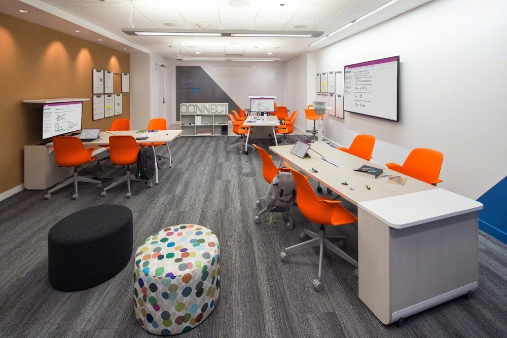 SteelcaseEDU  It's the final day of #NeoCon2017! Stop by Suite 3-100 to see the Verb Active Media Table & to learn more about #activelearning at scale. pic.twitter.com/U51GEV1bCP  Jun 14, 2017, 9:07 AM