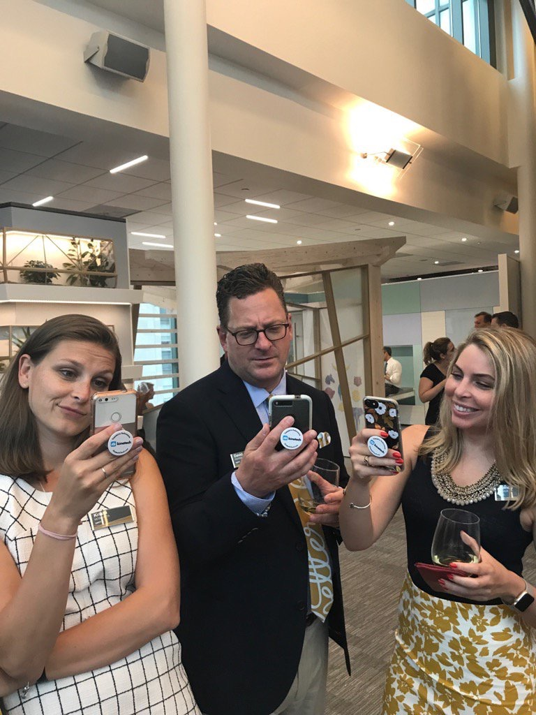 kinetechcloud  @DIRTT take a look these #DIRTTbags using their pop sockets! #connext2017 pic.twitter.com/nlwjCVrWpF  Jun 13, 2017, 6:44 PM